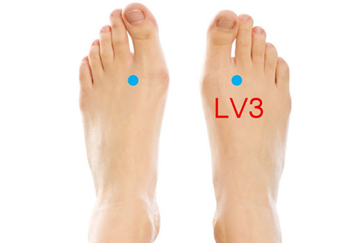 acupressure point liver 3